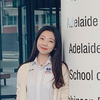 Bachelor degree of Nursing at the University of Adelaide, currently a Registered Nurse.