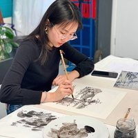 Chinese Ink Brush Painting tutoring - to all levels student - ALL MATERIALS PROVIDED