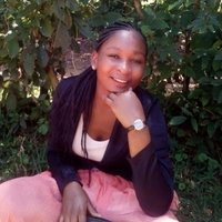 Faith a student at Rongo university teachs english and literature part time at glory girls in kenya