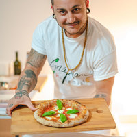 Learn the Art of Making Pizza with Marco Graziani, a certificate Italian Pizza chef from the AVPN (Associazione Verace Pizza Napoletana)